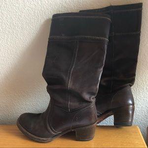 Frye Western style boot